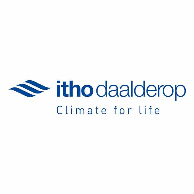 Logo for Itho Daalderop, an innius customer