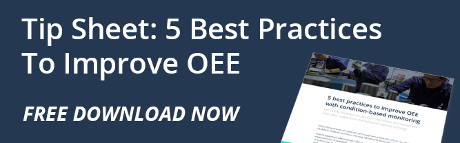 Free Tip sheet download now 5 practices to improve OEE
