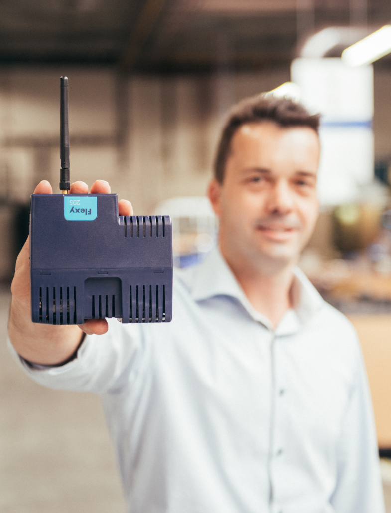 innius was easy to implement at Itho Daalderop with an eWON Flexy modem