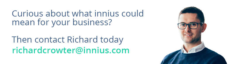 Curious about how innius could increase OEE for your business? Then contact Richard today