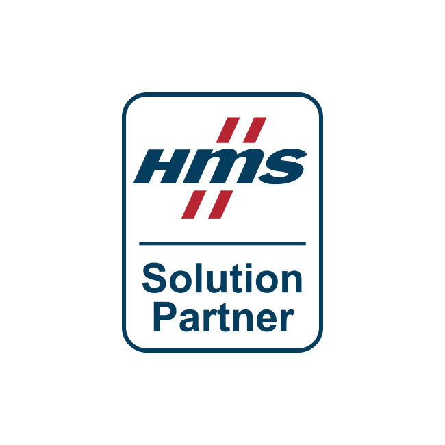 Logo for HMS Industrial Networks, an innius partner