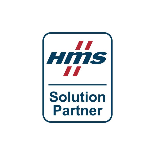 Logo for HMS Industrial Networks, an innius partner