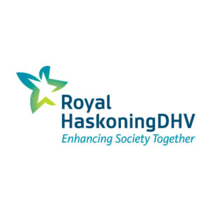 Logo for RoyalHaskoningDHV, an innius partner