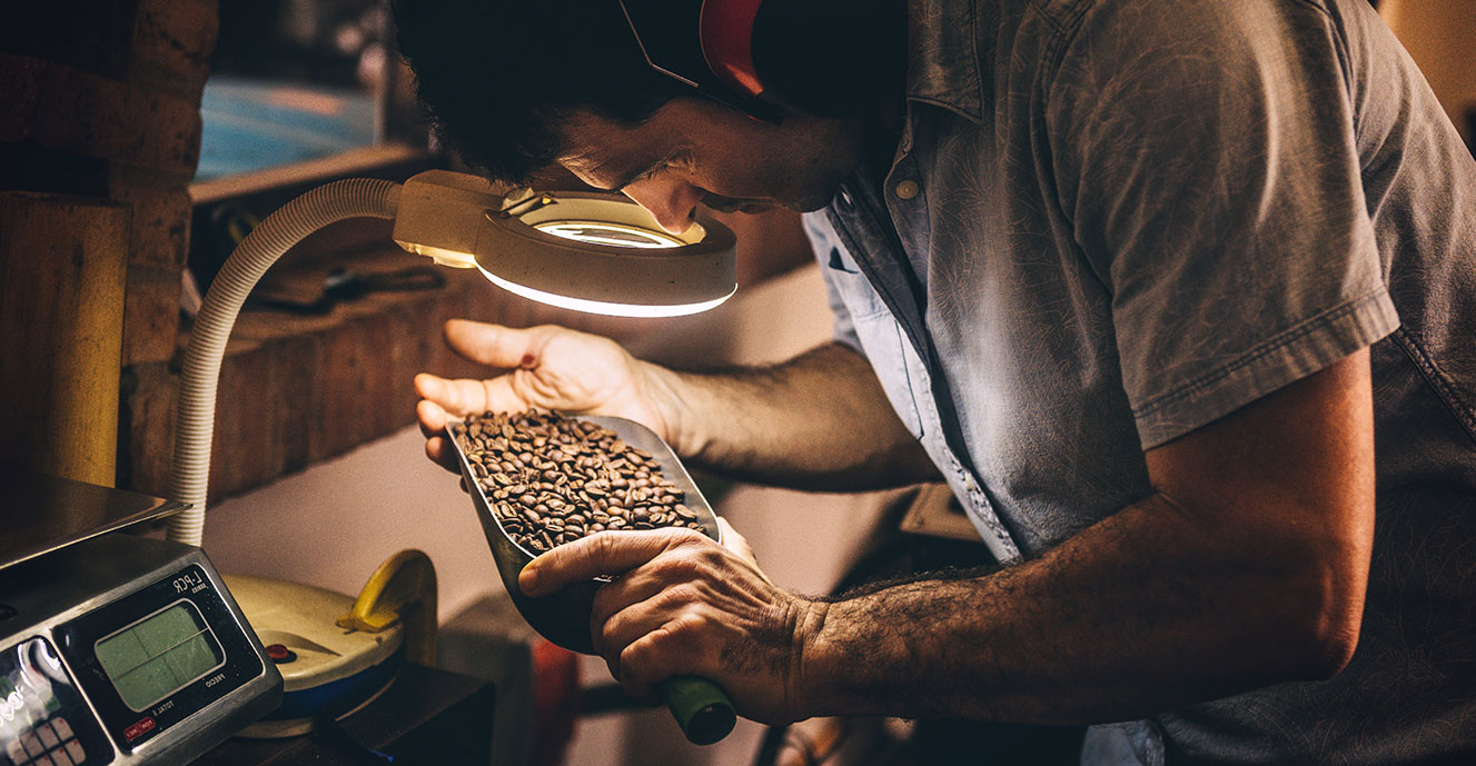 Quality Control of Coffee Beans